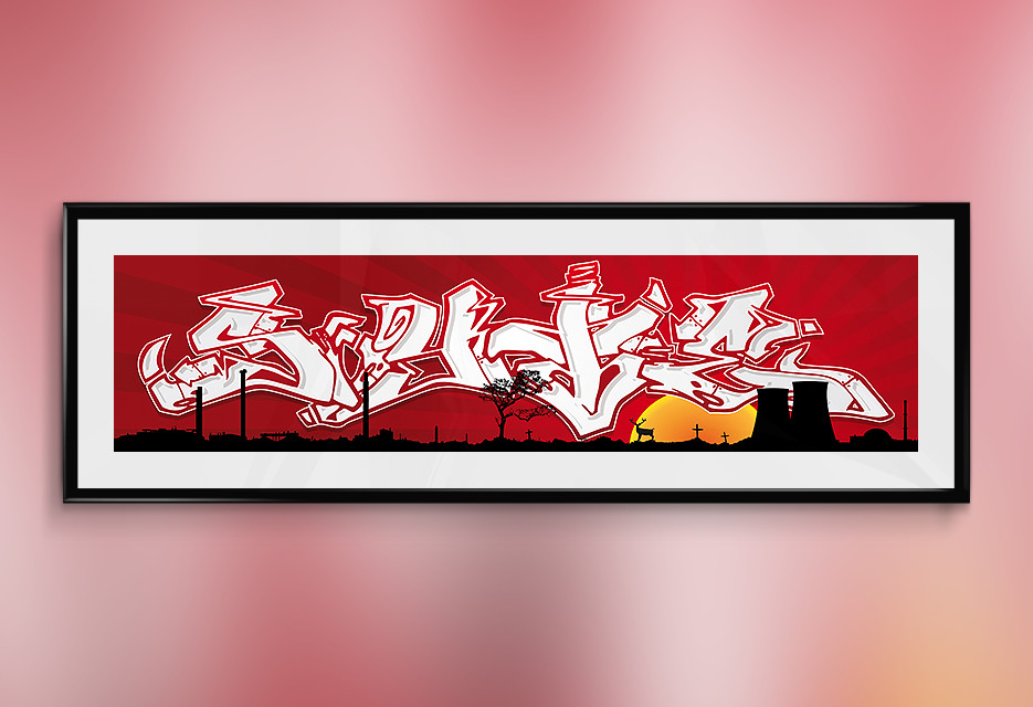 Digital Art: SYTE Graffiti
