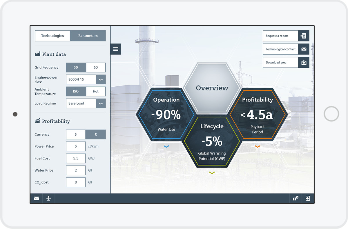 Siemens Value Plus - Web App